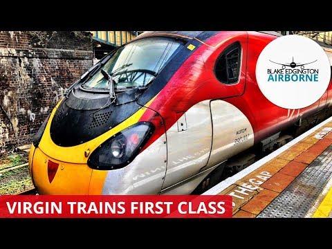 TRAIN REVIEW | Virgin Trains - First Class | Class 390 Pendolino | London to Birmingham