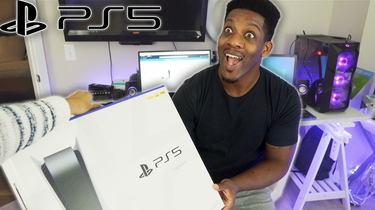Surprising My Husband With A PS5 On Launch Day!!