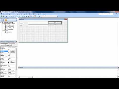 VBA Excel Membuat Form Menu Setting Printer ( Set Default Printer )