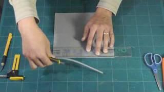 Foamy. Técnica No.1 Corte