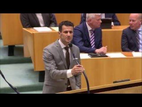 Actueel nieuws Farid Azarkan vs PVV in debat Tweede Kamer