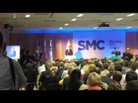 Miro Cerar govor ob konstituiranju stranke