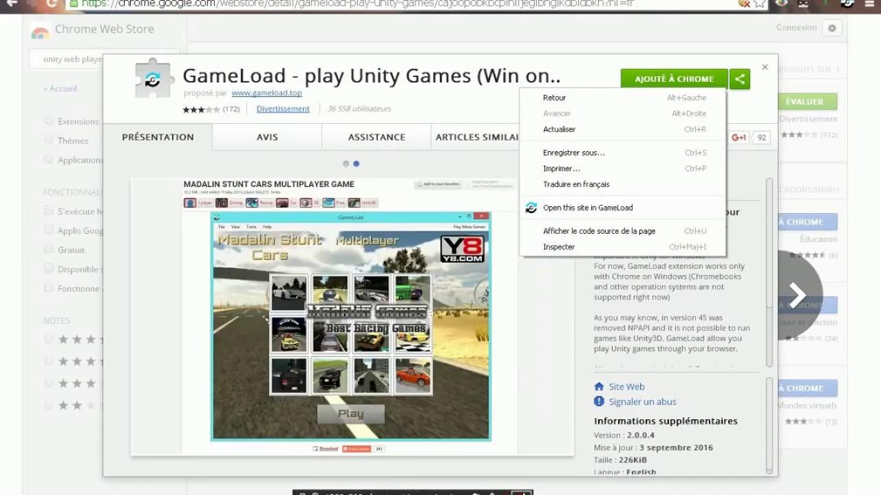 le plugin webplayer