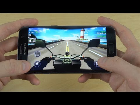 Highway Traffic Rider Samsung Galaxy S7 Gameplay Review!