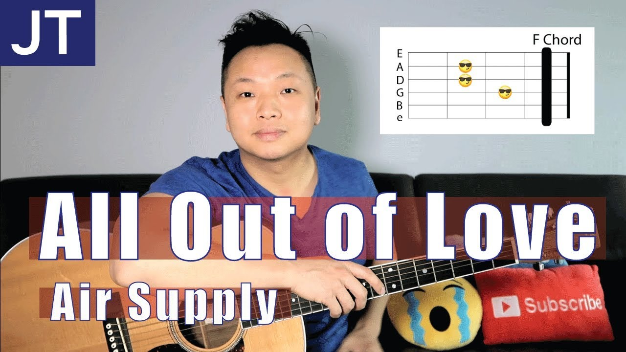 All Out Of Love Air Supply Guitar Lesson Youtube