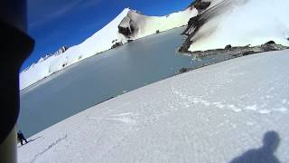 Mt Ruapehu Crater Lake - Snowboarding Exploratory Mission - October 21, 2013