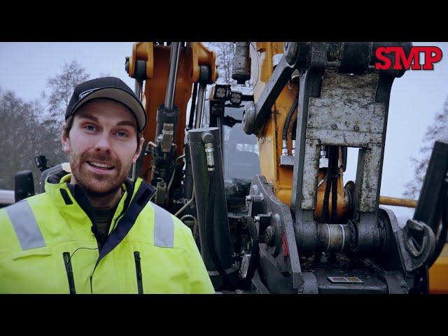 Säkerheten viktigast när Mattias Runesson väljer tiltrotator!