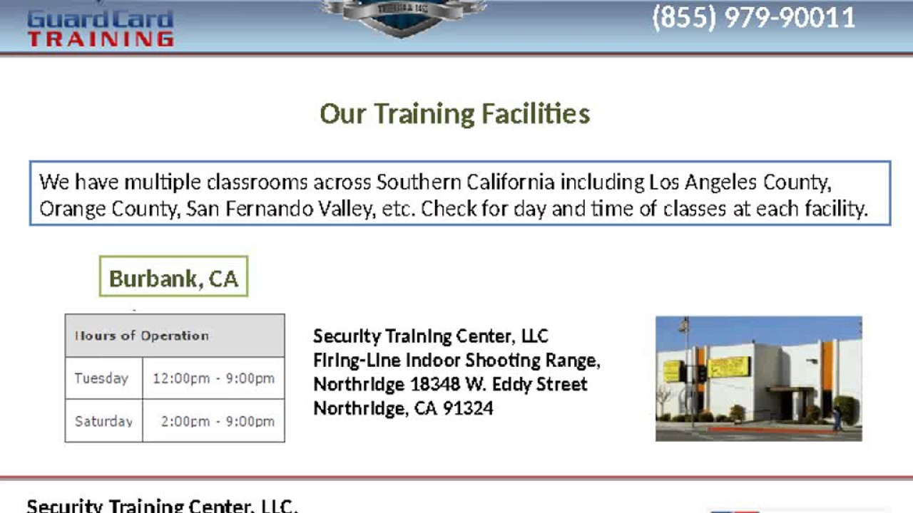 Apply For Security Guard License Youtube