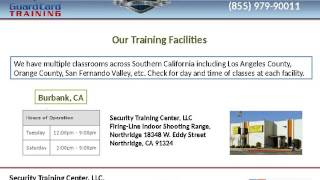 Apply for security guard license