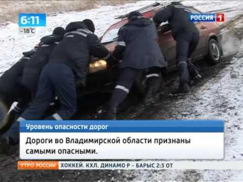 Названы самые опасные дороги России