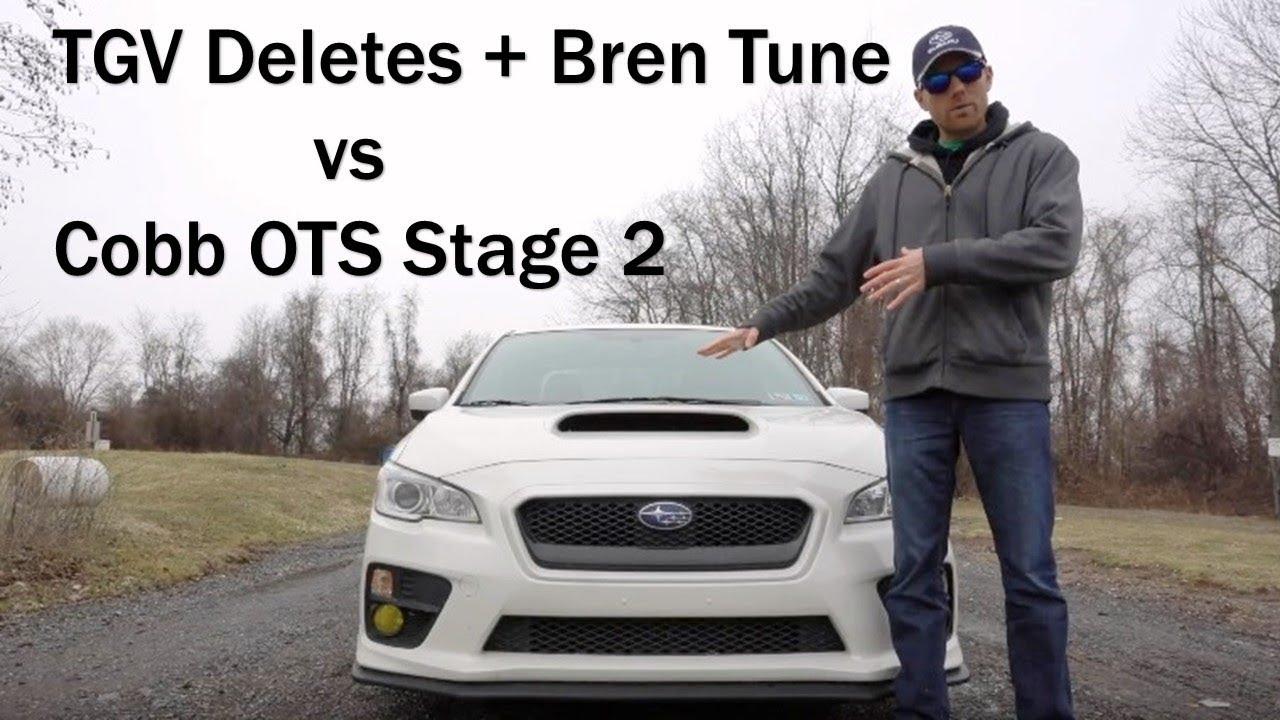 BrenTuning vs Cobb Stage 2 2016 WRX