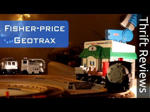 I've Always Wanted This As A Kid - Fisher-price Geotrax [Thrift Reviews]