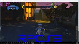 Sly Thieves in Time, gameplay on PS3 Emulator(RPCS3)
