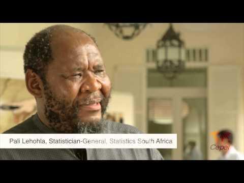 Pali Lehohla, Statistician-General, Statistics South Africa