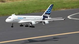Airbus A380 - RC plane maiden fly
