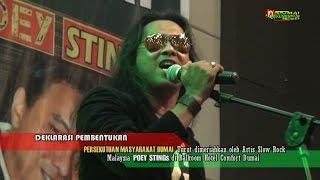 POEY STINGs dalam lagu ''Ingatku Dalam Doamu'' pada acara Pengukuhan Persekutuan Masyarakat Dumai