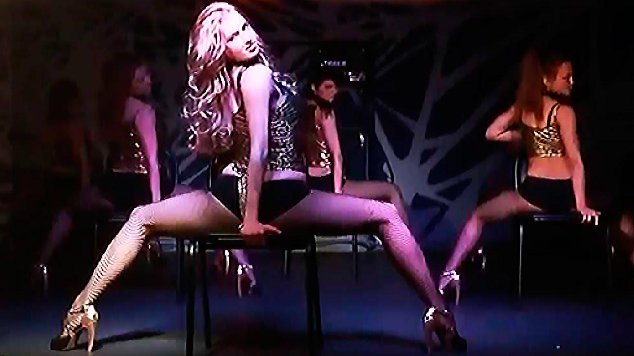 стриптиз под клубной видео