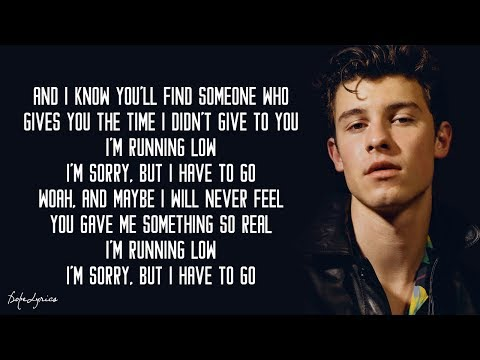 Shawn Mendes - Running Low (Lyrics) 🎵
