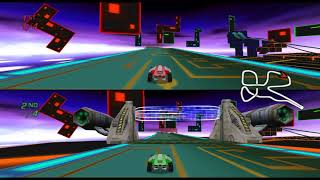Wheelspin / Speed Zone (Wii) out of bounds exploration