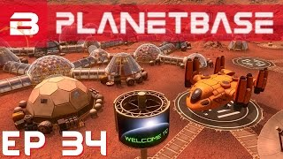 PlanetBase - Spare Spares - Ep 34 (Space Survival Strategy Gameplay)