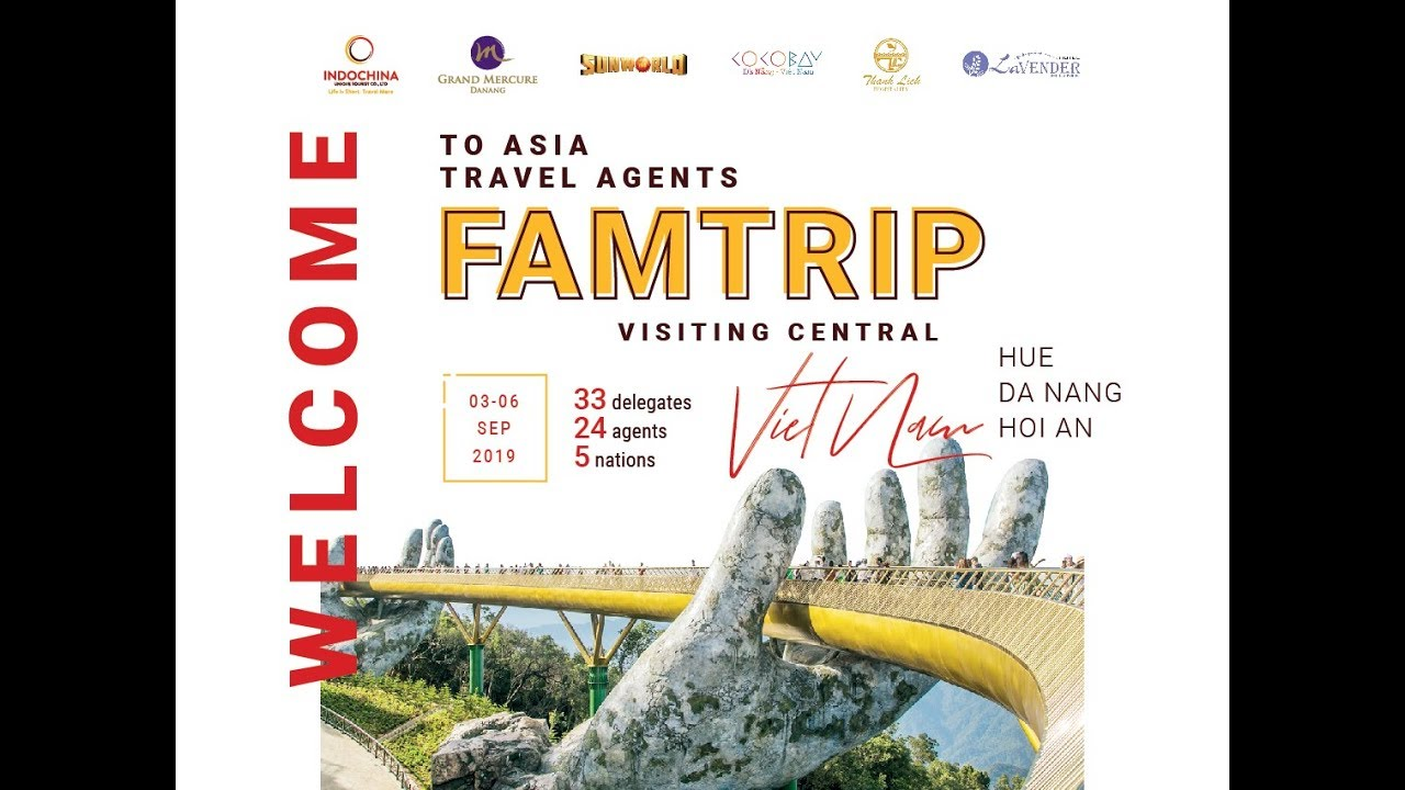 FAMTRIP IN CENTRAL VIETNAM – INDOCHINA UNIQUE TOURIST