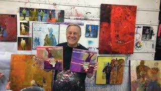 "BobBlast 156 - ""Smithsonian Folklife Circus Festival Paintings Practicing Small Warmups."""