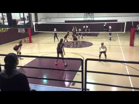 Chicago Waldorf School 2015 Volleyball League Tournament Final vs Universal Oct 21, 2015 02