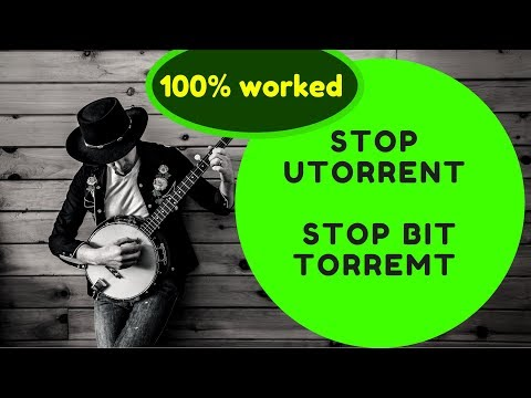 How To Stop Automatic Open Bit Torrent On Windows Startup How To Stop Utorrent?