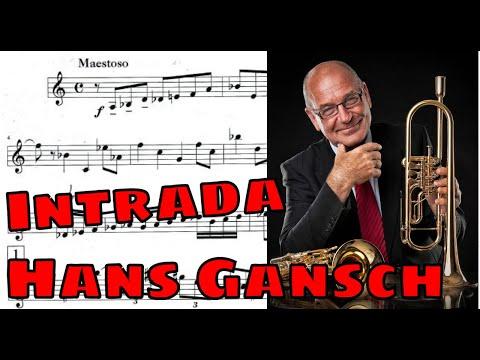 ♫♬Arthur Honegger: Intrada (Hans Gansch)