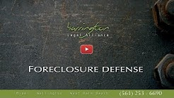 Real Estate Law: Foreclosure Defense | Harrington Legal Alliance | West Palm Beach
