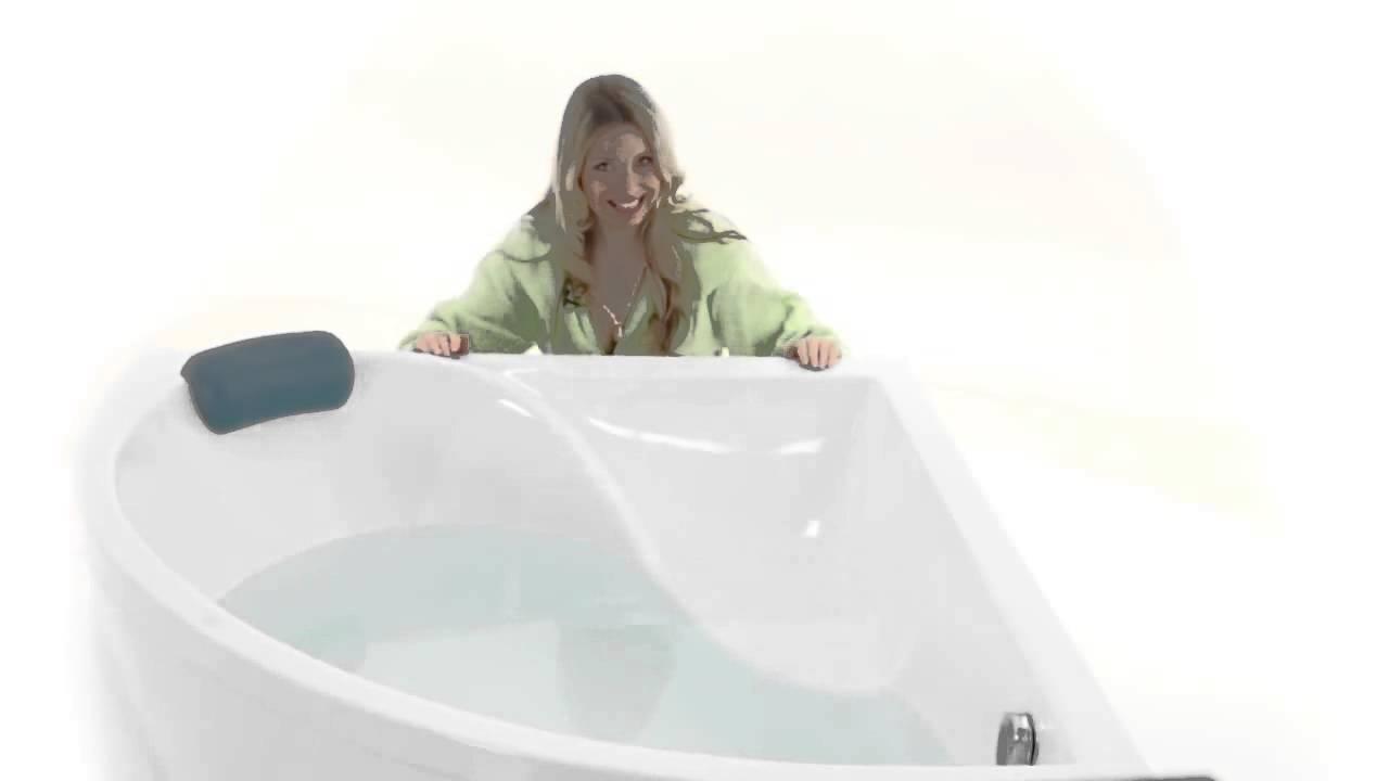 Акриловая гидромассажная ванна Triton Респект - YouTube