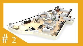 حول رسمة بيتك 3D وافرشه بكامل الاثاث مع هذا البرنامج الرائع (2)