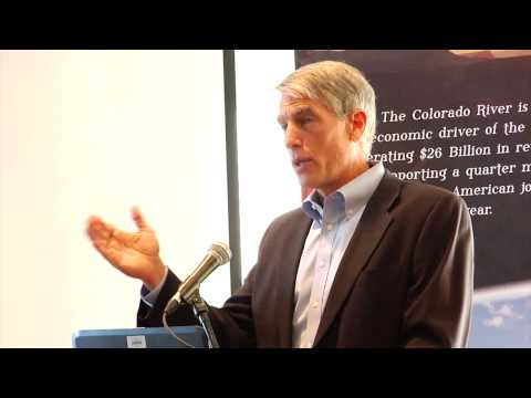 Senator Udall's Speech at the Business of Water Summit 10/18/13