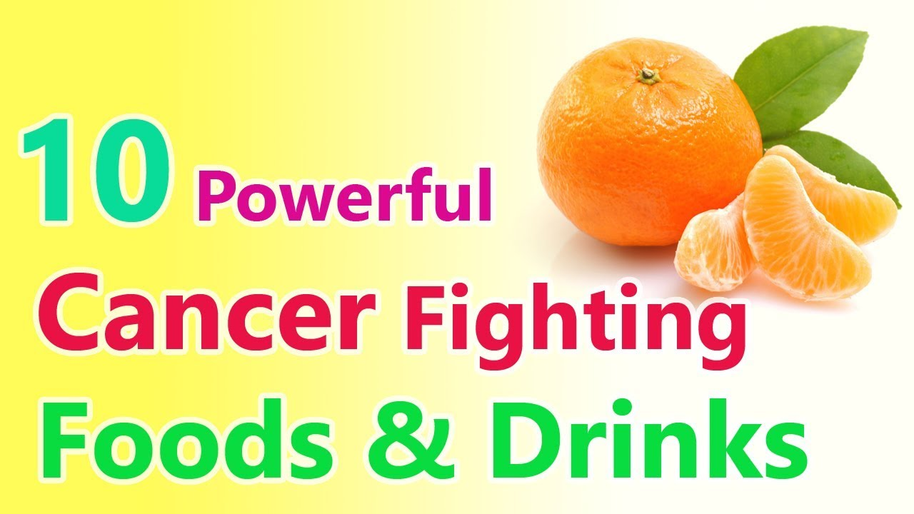 Cancer Fighting Foods and Drinks - Curing Cancer with Diet