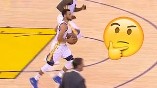 Steph Curry TROLLED by Trail Blazers After Ridiculous Traveling No-Call