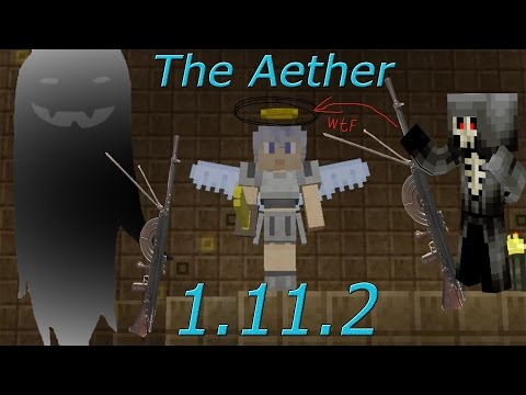 Обзор мода [Aether Legacy] на Minecraft 1.11.2 (The Aether)