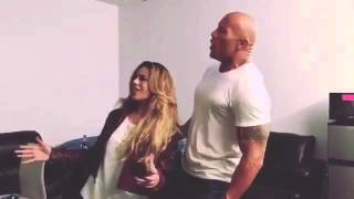 Dinah Jane and The Rock