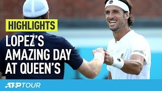 Lopez's Amazing Day, Simon Joins Him In Final | HIGHLIGHTS | ATP