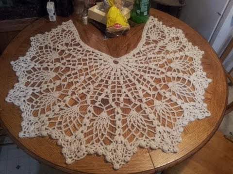 Pineapple Shawl Tutorial Part 1 (Crochet Stitches)