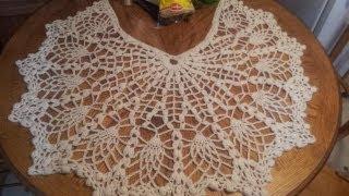Pineapple Shawl Tutorial Part 1 (Crochet Stitches)