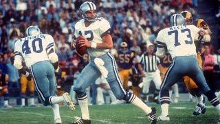 #46: Roger Staubach   The Top 100: NFL's Greatest Players   #FlashbackFridays