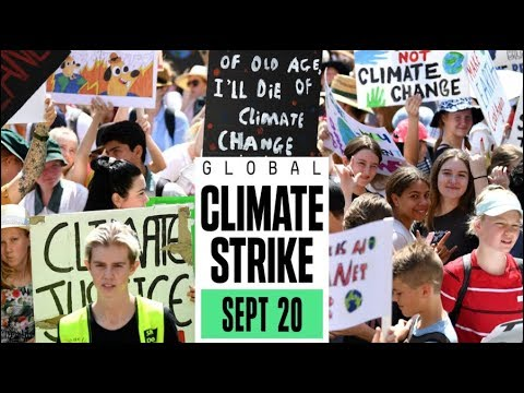 Voices from the Global Climate Strike
