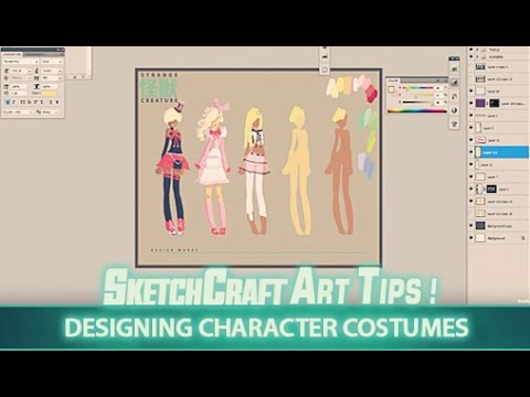 Art Tips: Designing Character Costumes