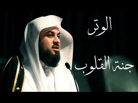 لن تترك صلاة الوتر بعد هذا المقطع ....... د.محمد العريفي ...