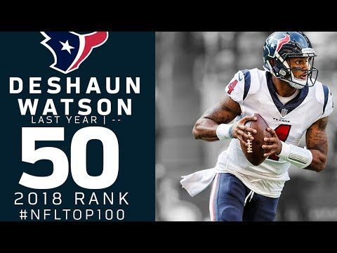 #50: Deshaun Watson (QB, Texans) | Top 100 Players of 2018 | NFL