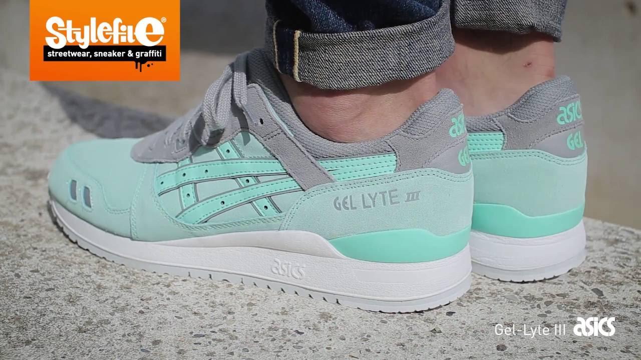 Asics Gel Lyte III Sneaker turquoise
