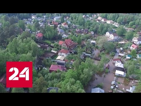"""""""Погода 24"""": Москва против сил стихии - Россия 24"""