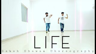 Life | Daksh Dhawan Choreography | Dance Cover | Akhil Feat Adah Sharma | Latest Punjab Song | Moves