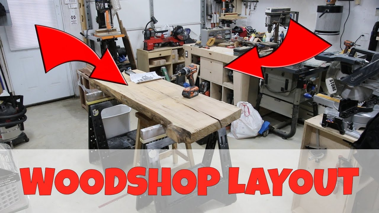 Woodworking Shop Layout - YouTube