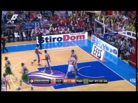 C. Zvezda Telekom vs. Panathinaikos 86-90 Τα highlights του Παναθηναϊκού